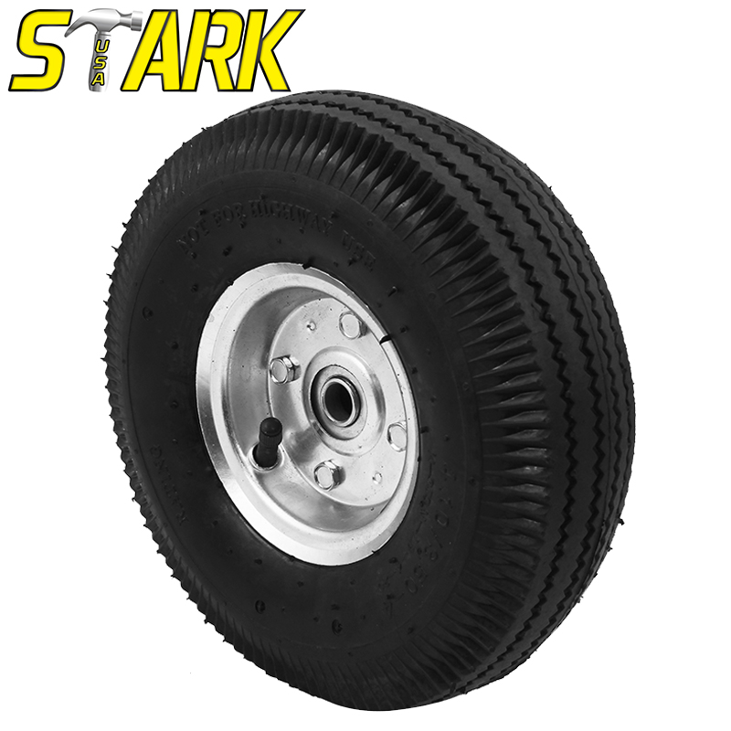 "10"" AIR TIRE FOR HAND TRUCKS"
