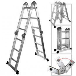 12.5' ALUMINUM FOLDING LADDER