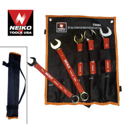 5pcs Wrench Combo w/ Soft Grip, SAE