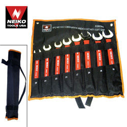 8pcs Wrench Combo Set w/ Soft Grip, MM