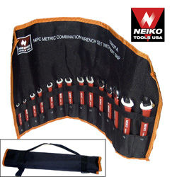 14pcs Combo Wrench Set w/ Soft Grip, MM