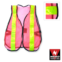 Neon Yellow Safety Vest